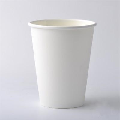 Стакан бумажный 250 мл белый (100 шт/уп)