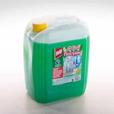 """Средство для мытья посуды """"Help""""  Яблоко, 5 кг"""