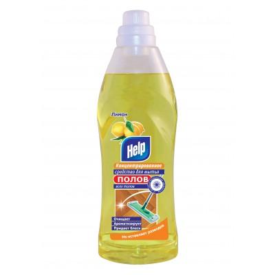 """Чистящее средство """"Help"""" Лимон,универсальное (с хлором), 1л"""