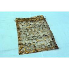 Подарочный мешочек из органзы с завязками 20*25 см